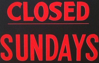 Closed on Sundays for the season.
