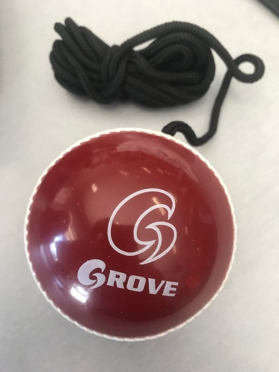 Grove hard ball on string