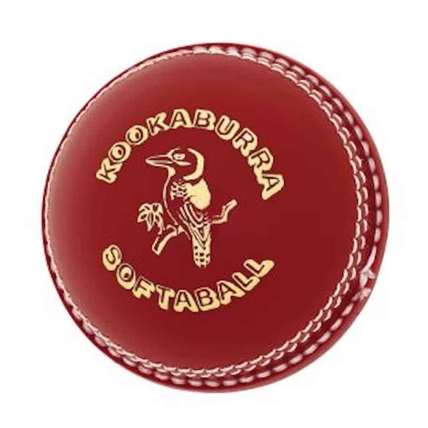Softaball Red Kookaburra Cricket Ball