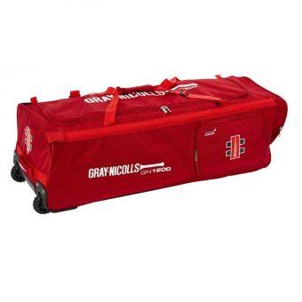 Gray Nicolls GN1200 Wheele Bag Red