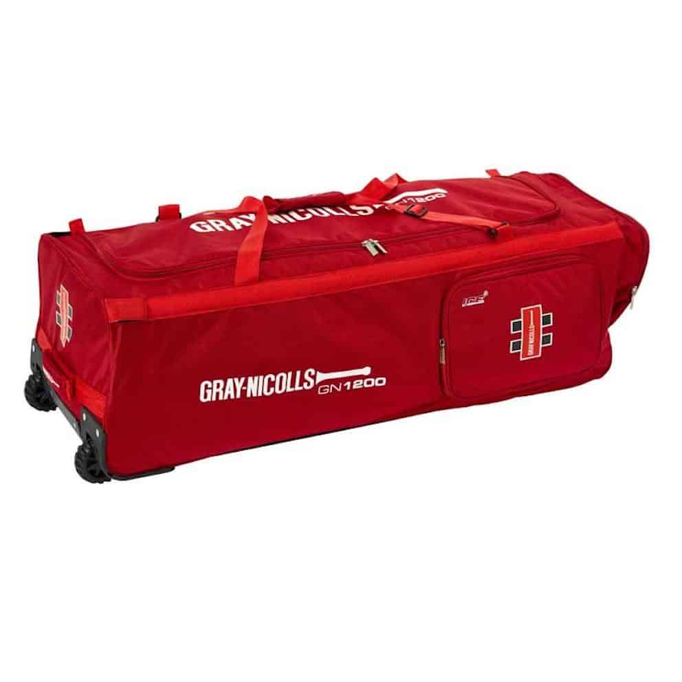 Gray Nicolls GN1200 Wheele Bag Red
