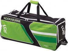Kookaburra Pro 800 Wheelie - Black Lime