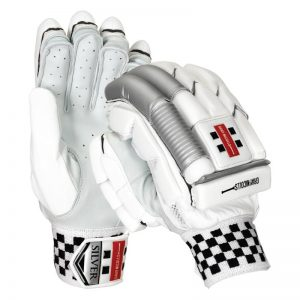 Gray Nicolls Silver Batting Gloves