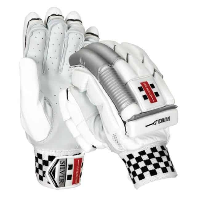 Gray Nicolls Silver Batting Gloves