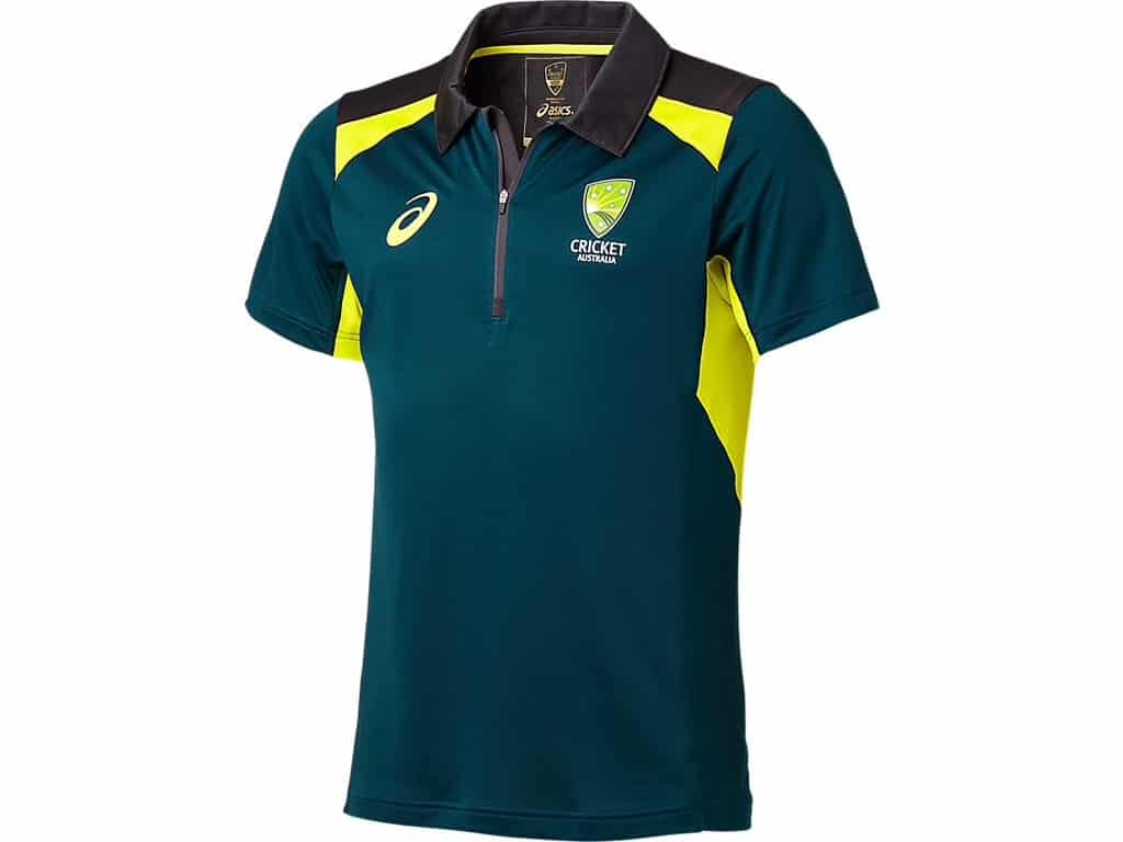 Cricket Australian Training Polo Clothing