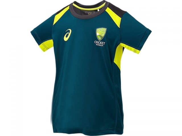 Cricket Australian Junior Training Tee