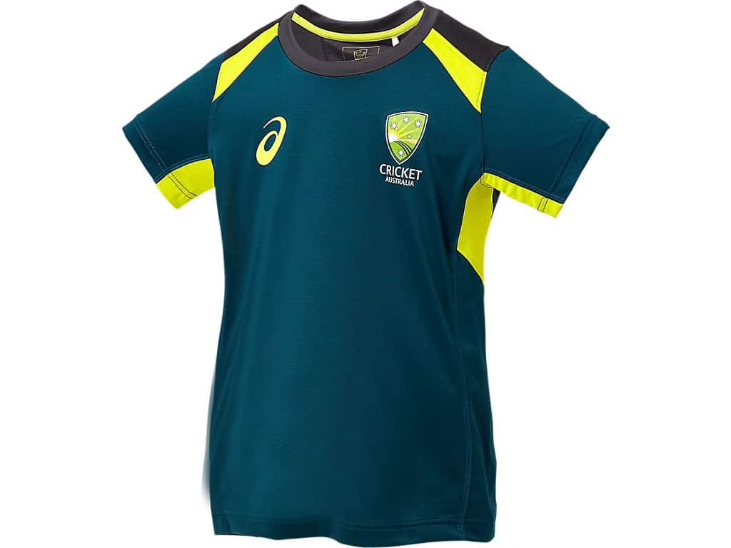 Cricket Australian Junior Training Tee