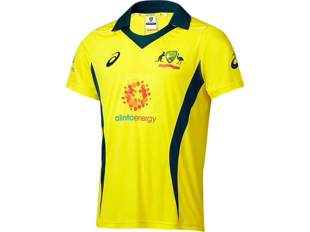 Cricket Australian ODI Replica Shirt Junior