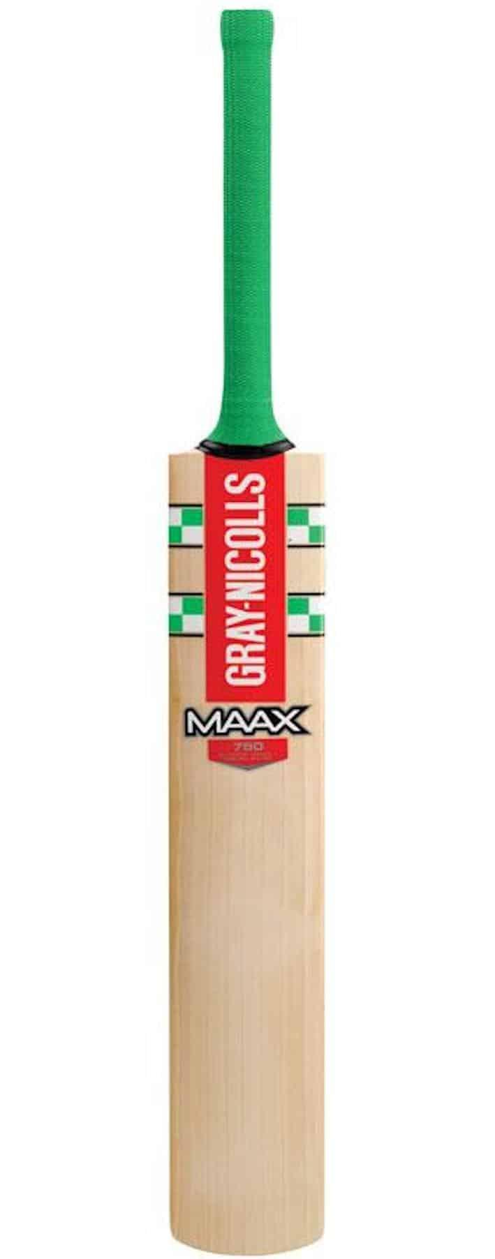 Gray Nicolls Maax 750 Cricket Bat face