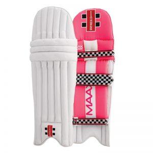 Gray Nicolls Maax pink batting pads