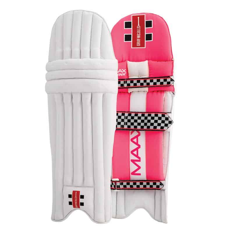 Gray Nicolls Maax pink batting pads