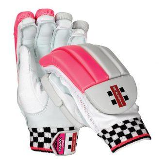 Maax Strike Gray Nicolls Batting Gloves Pink