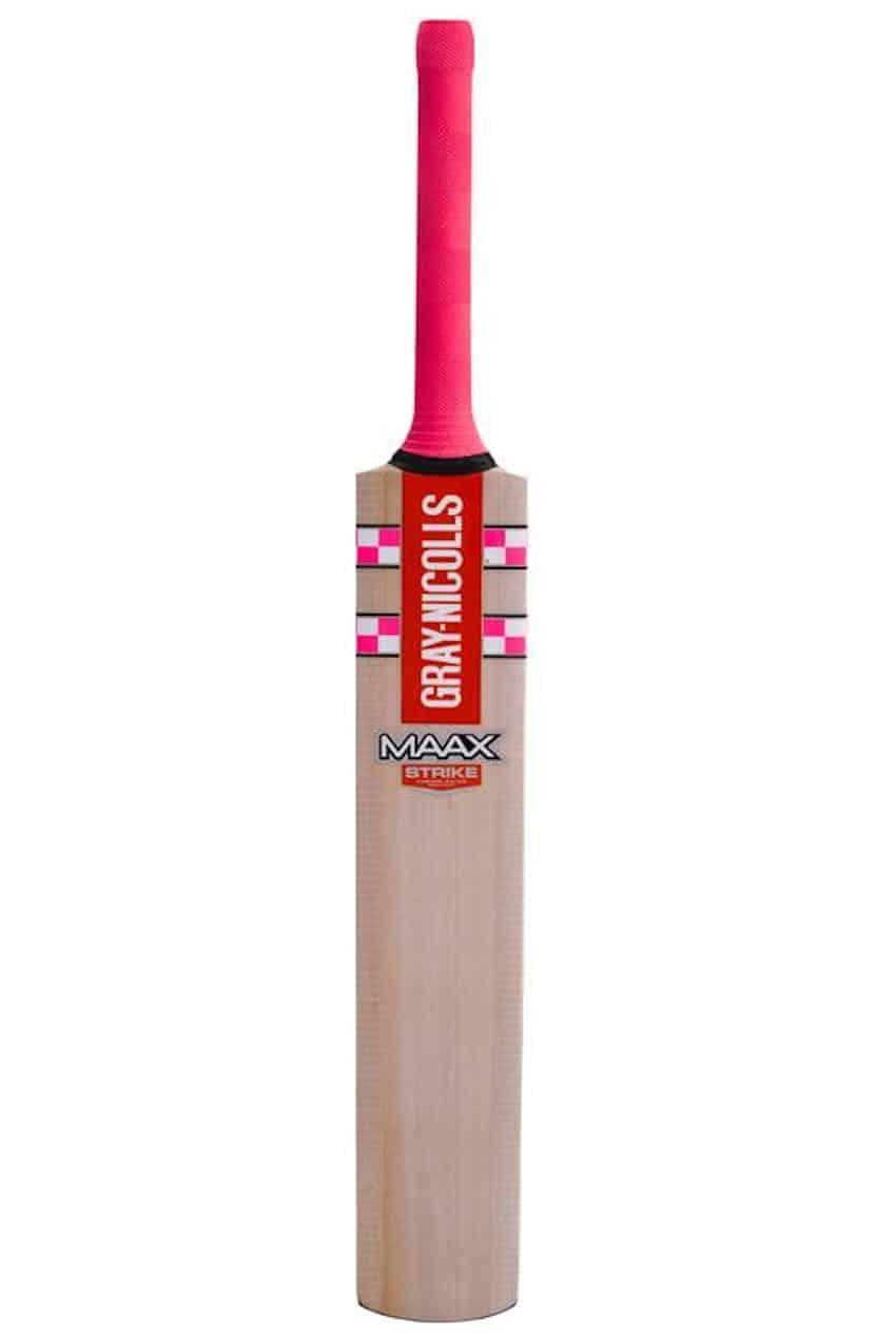 Gray Nicolls Maax Pink Kashmir Bat Face