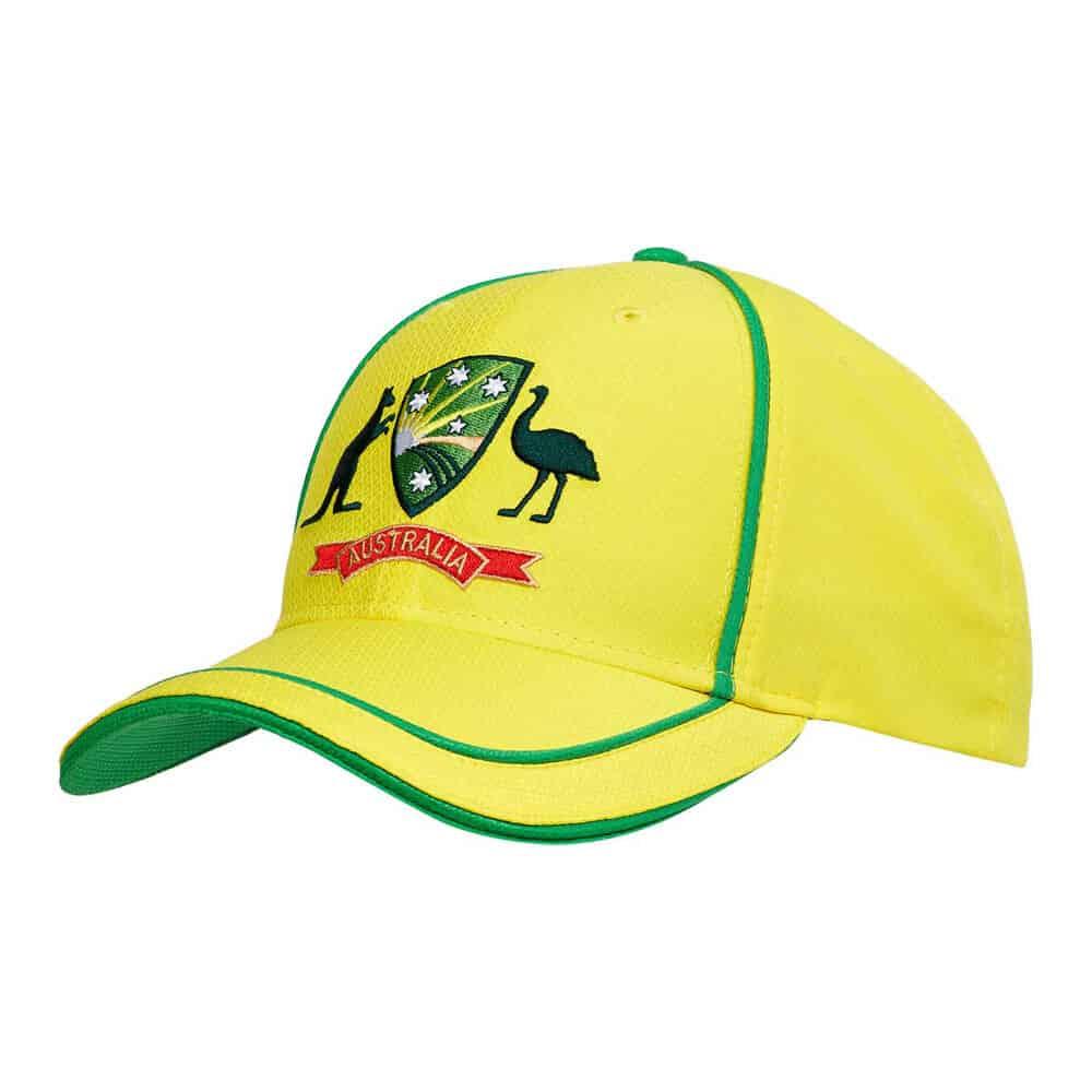 Australian Cricket replica cap yellow
