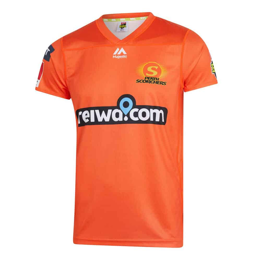 Perth scorchers replica shirt